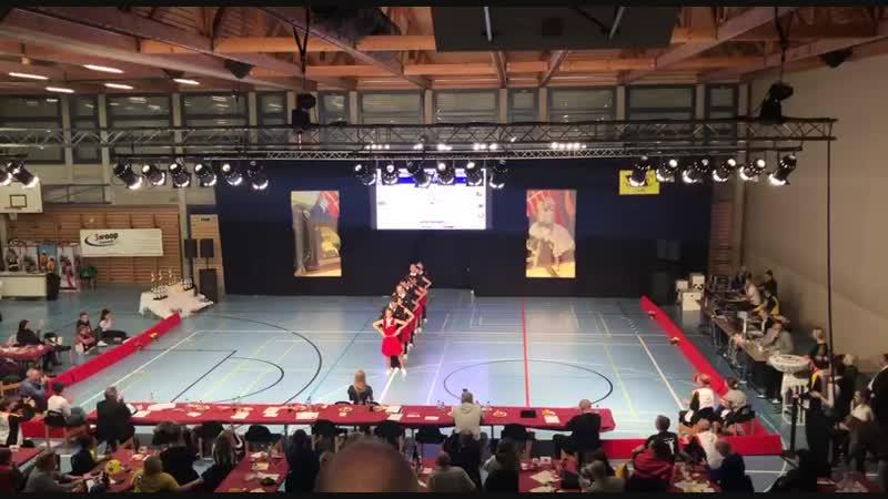 European Boogie-Woogie Championhip 2018, Schaffhausen. Formation. 1st place. Bingo-Boogie.