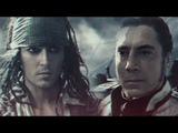 Captain Armando Salazar Captain Jack SparrowPirates of the Caribbean Dead Men Tell No Tales