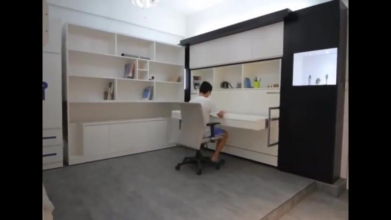 Мебельное решение для маленькой квартиры