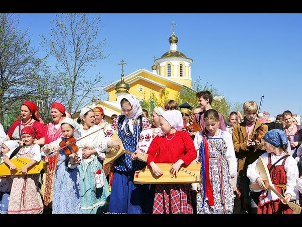Яркие моменты фестиваля северных хороводов «Кружания - 2018» (СПб)