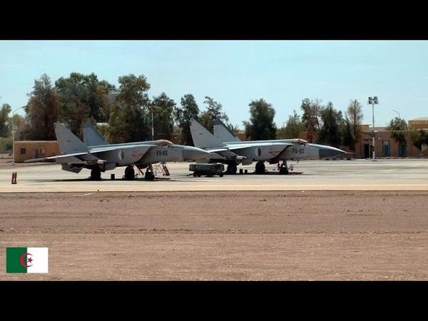 Algérie MiG 25 'Foxbat' des Forces aériennes de l'ANP