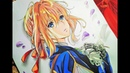 Drawing- Violet Evergarden (fan art) 3 VioletEvergarden Drawinganime