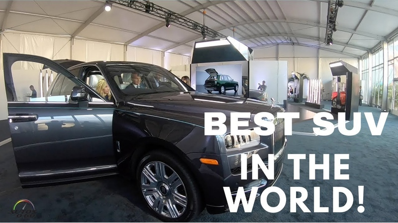 2019 Rolls Royce Cullinan World Tour Miami