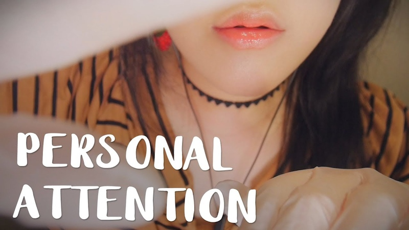 ASMR 10 Close Up Personal Attention 👐 쓰담쓰담시각터칭