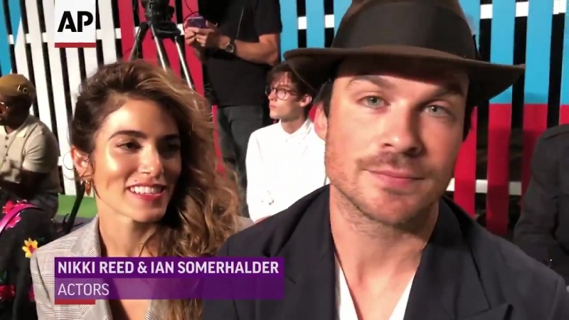 Nikki Reed and Ian Somerhalder talk about the joy of birth and parenthood,