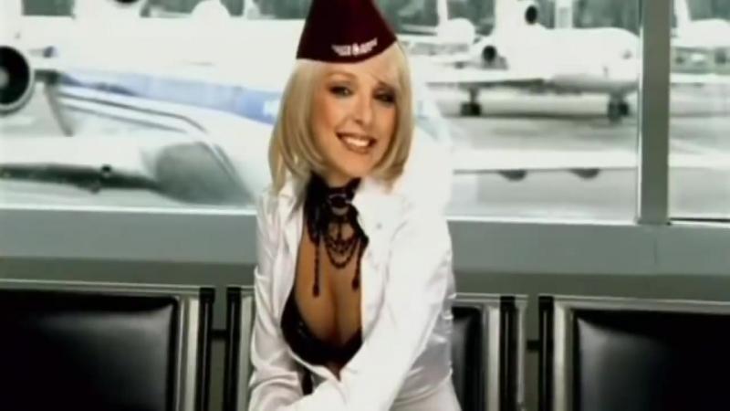 Жанна Фриске и группа Блестящие-А я все летала.