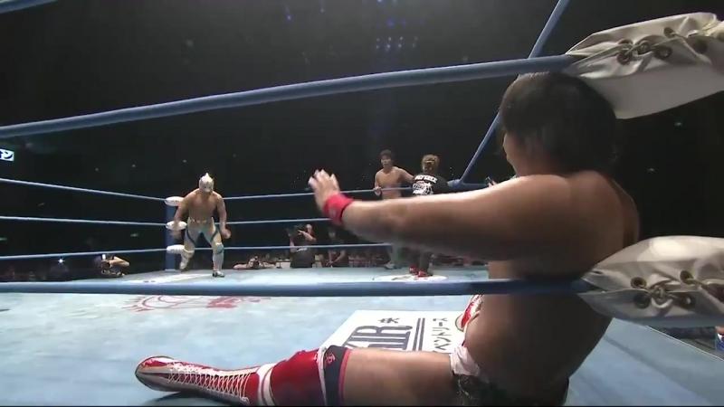 Billy Ken Kid, Shuji Ishikawa, Suwama vs. Dylan James, Jake Lee, Keiichi Sato (AJPW - Summer Action Series 2018 - Day 11)