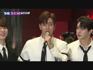 [vk][181030] monsta x interview @ the show work out live