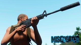 Miscreated Скрафтил Топовую БИТУ ! НАШЕЛ АРБАЛЕТ ! ТЕСТИМ M16 и VECTOR !