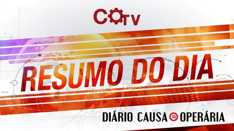 Resumo do Dia - nº88 | 19918 - Moro pode tudo, Lula e PCO não podem nada
