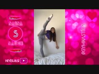SLs Best Gymnastics and Flexibility Musically TikTok Compilation October 2018 - To