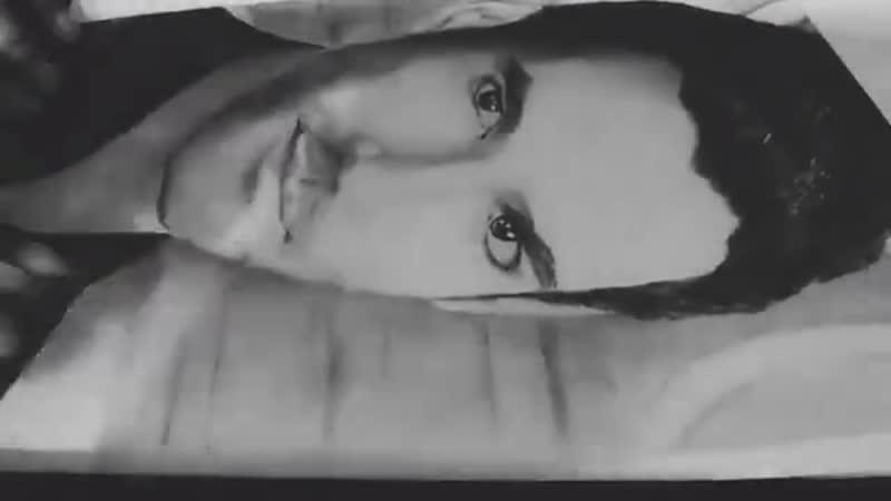 Rumaan M. - Том Эллис - набросок графитовым карандашом