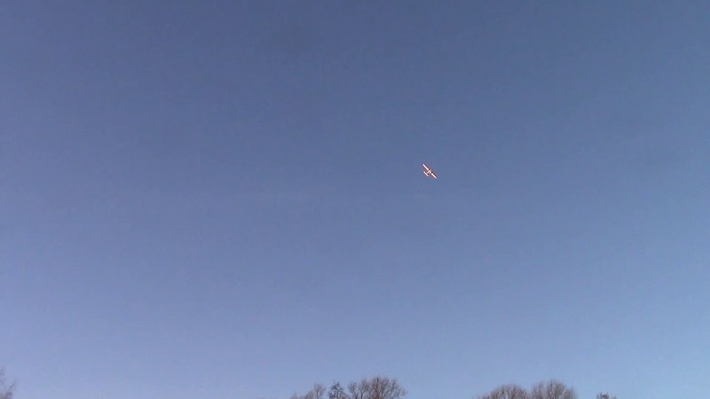 First Flyght RC airplane