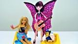 Чей рюкзак Барби или Дракулауры Видео про куклы