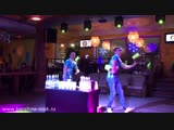 Гавайское бармен шоу дуэт