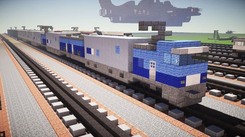 Minecraft M250系 Series 電車 JR Freight Train Tutorial マイクラ