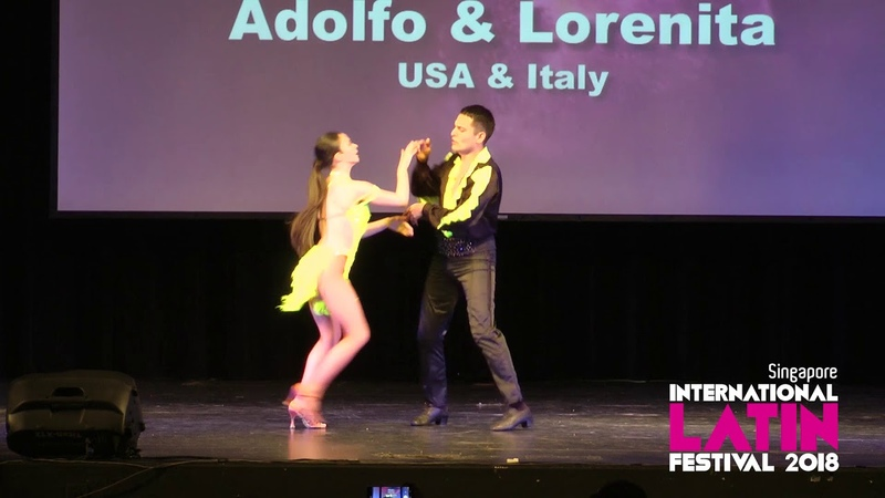 2018 Singapore International Latin Festival - Adolfo Lorenita