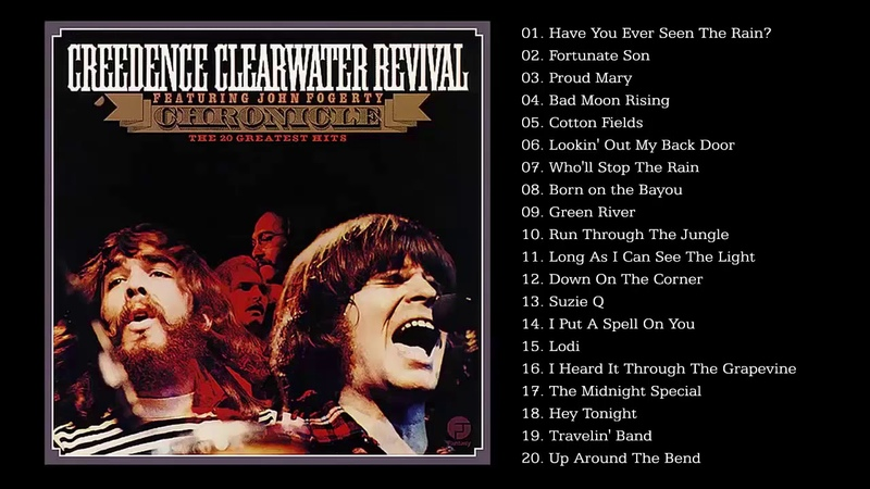 CCR Greatest Hits Best Songs of CCR HQ