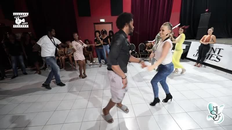 Terry SalsAlianza y Edyta - Martinique Int Salsa Festival 2018!