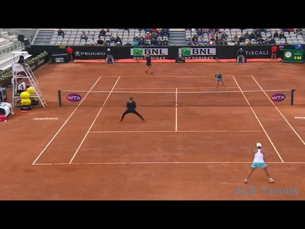 V.Azarenka/A.Barty vs B.Krejcikova/K.Siniakova SF Rome 2019 Highlights
