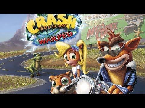 СТРИМ КРЕШ БРУТАЛ НАЧАЛО 1 [Crash Bandicoot 3: Warped]