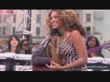 Beyonce - Irreplaceable (Live The CBS Early Show)