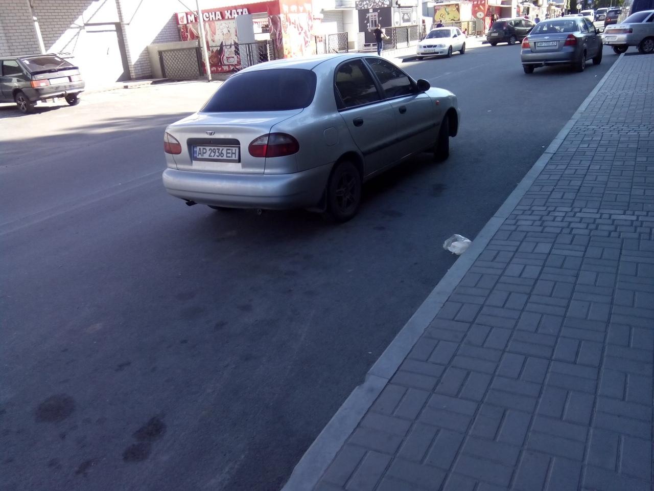 Парковка в Мелитополе