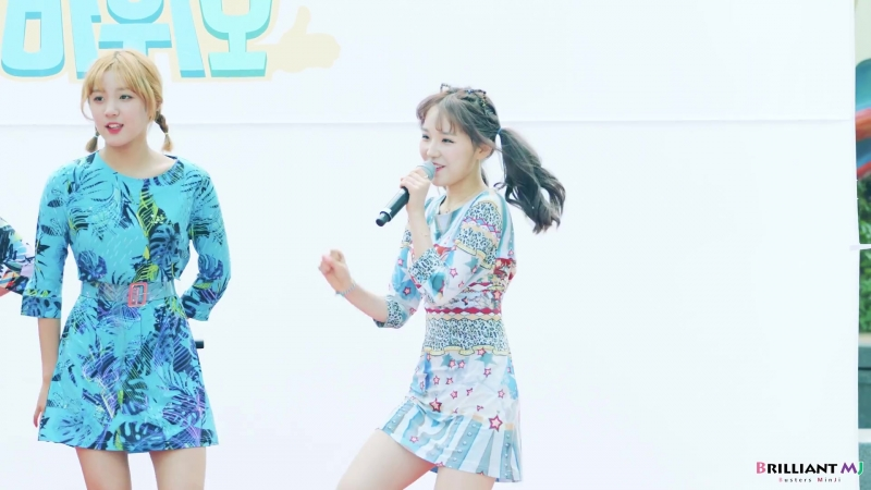 180708 Celebrated Stage ▶ Busters(버스터즈) Grapes(포도포도해)[Rehearsal] - MinJi(민지) @청계천
