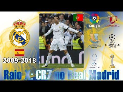 Raio X Cristiano Ronaldo no Real Madrid (2009 a 2018)