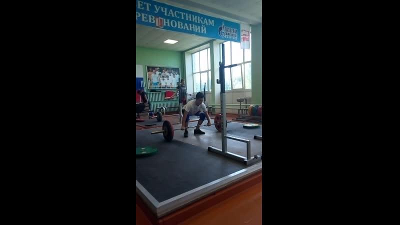 Даниил Горбаченко-05 гр (пашем) прот. на гр.жим-60 кг.