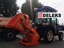 DELEKS Cippatore DK-1500 IDR nuova versione, cippatrice per trattore