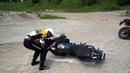 Как поднимать тяжелый мотоцикл Уроки от Клинтона Смаута