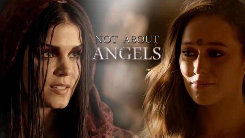 The 100 | Not about Angels [season 5, Clexa, Bellarke, Octavia, Madi, Monty and Harper]