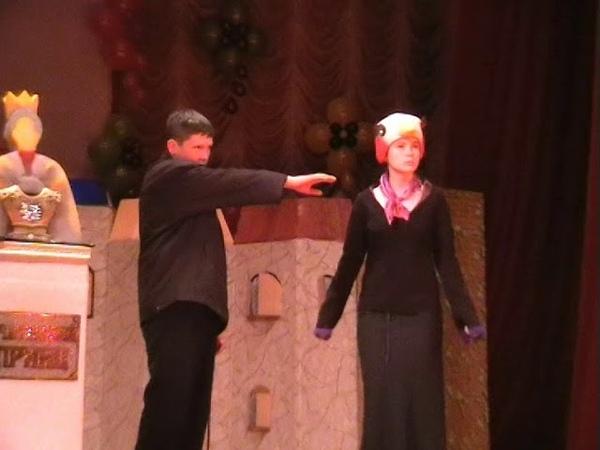 Детский театр Горчично зёрнышко.Оскар Уайльд Счастливый принц.Часть первая.