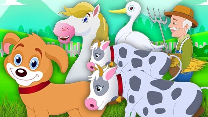 старый макдональд имел ферму рифмы для детей Old Macdonald Had A Farm Kids Rhymes And Songs