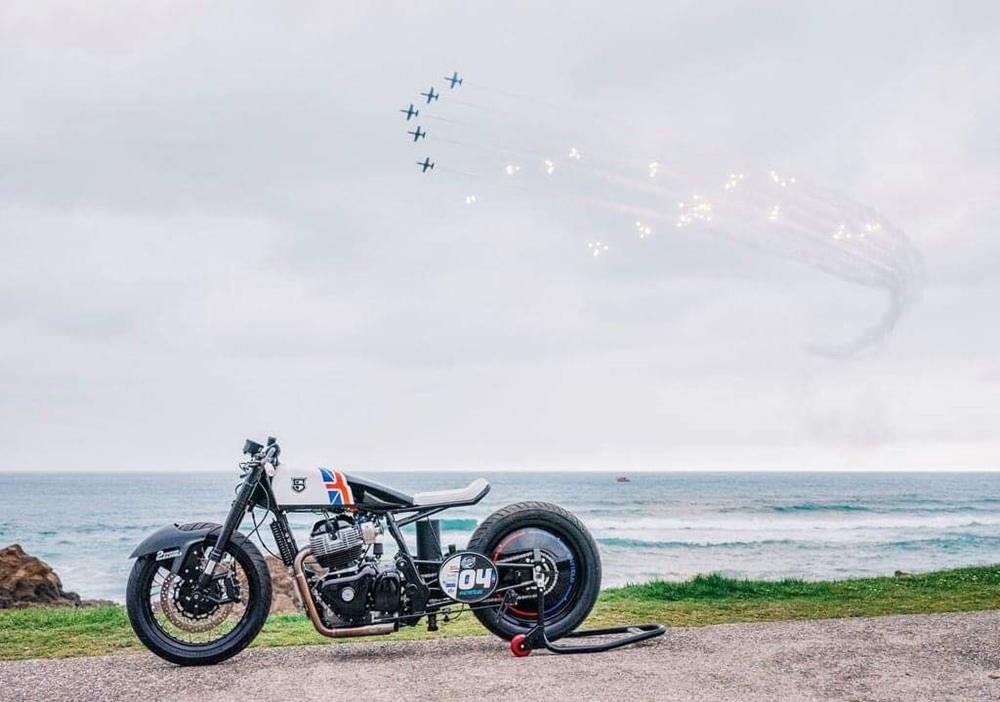 Sinroja Motorcycles: драг-байк Royal Enfield Continental Racer