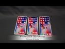 IPhone 2018 3D print mock-up