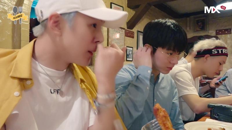 [VK][180610] Monchannel [B] EP.90 Lee Minhyuk.Yoo Kihyun.Let's have a meal prologue