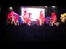 Ростов, библиотека, бразильский танец в перьевых костюмах, июль 2018
