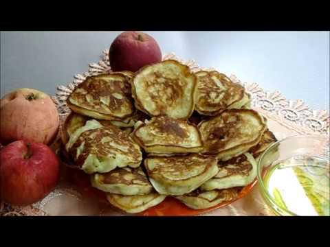 Королевские Оладьи с Яблоками Без растительного масла Теперь всегда так готовлю