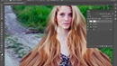 Обработка волос в adobe photoshop | как сделать объем волос в фотошопе | adobe photoshop, волосы