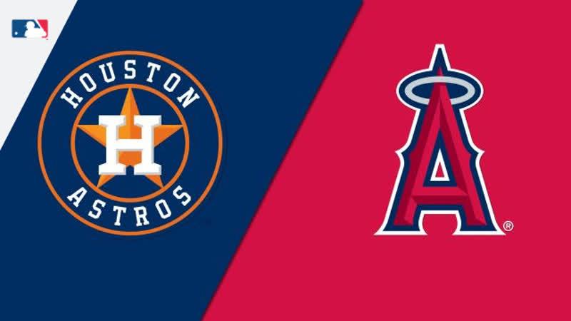 MLB Astros vs Angels