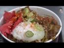 Rice with Beef _ Korean Street Food _ Wolbae E-Mart, Daegu Korea