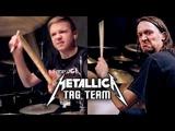 WHIPLASH - METALLICA - Drumming Tag Team