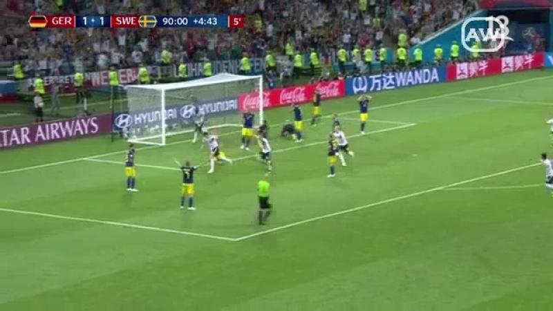 Alemania 2-1 Suecia - Grupo F - Fecha 2 - Mundial Rusia 2018