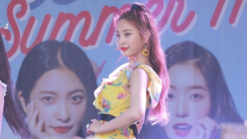 180812 레드벨벳 Red Velvet 조이 Joy Power Up 파워업 캐리비안베이팬사인회 4K 직캠 by 비몽