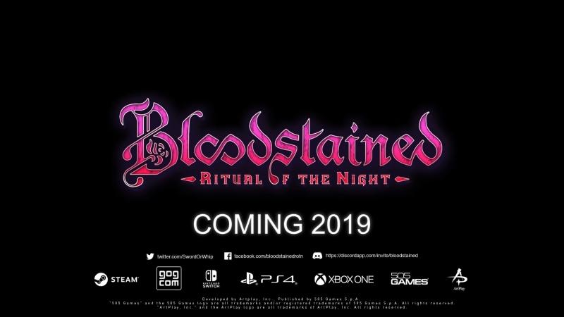 Bloodstained: Ritual of the Night - перенос релиза на 2019 год, отмена версии для Vita