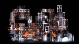 Amon Tobin - Dropped From The Sky (Live Projection Mapping)