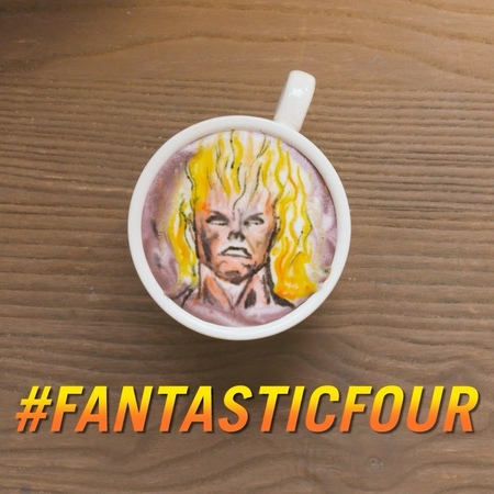 "Marvel Entertainment on Instagram: ""Is it getting hot in here, or is it just us? Catch up on all things FantasticFourWeek on Marvel.com! (☕: @bari..."
