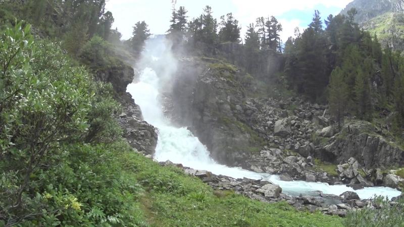 Водопад Кони Айры Алтай 2018
